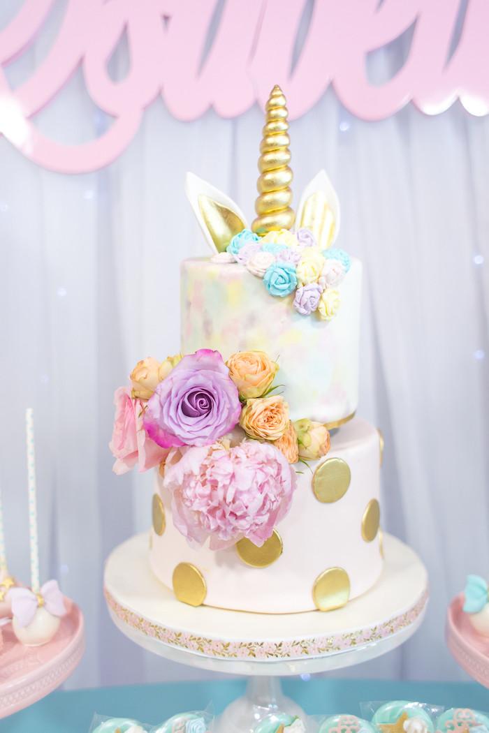 Unicorn Ideas For Party  Kara s Party Ideas Mystical and Magical Unicorn Birthday