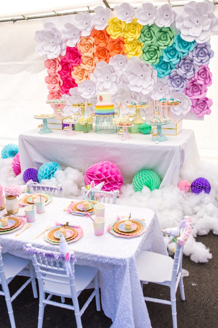 Unicorn Ideas For Party  Kara s Party Ideas Magical Unicorn Birthday Party