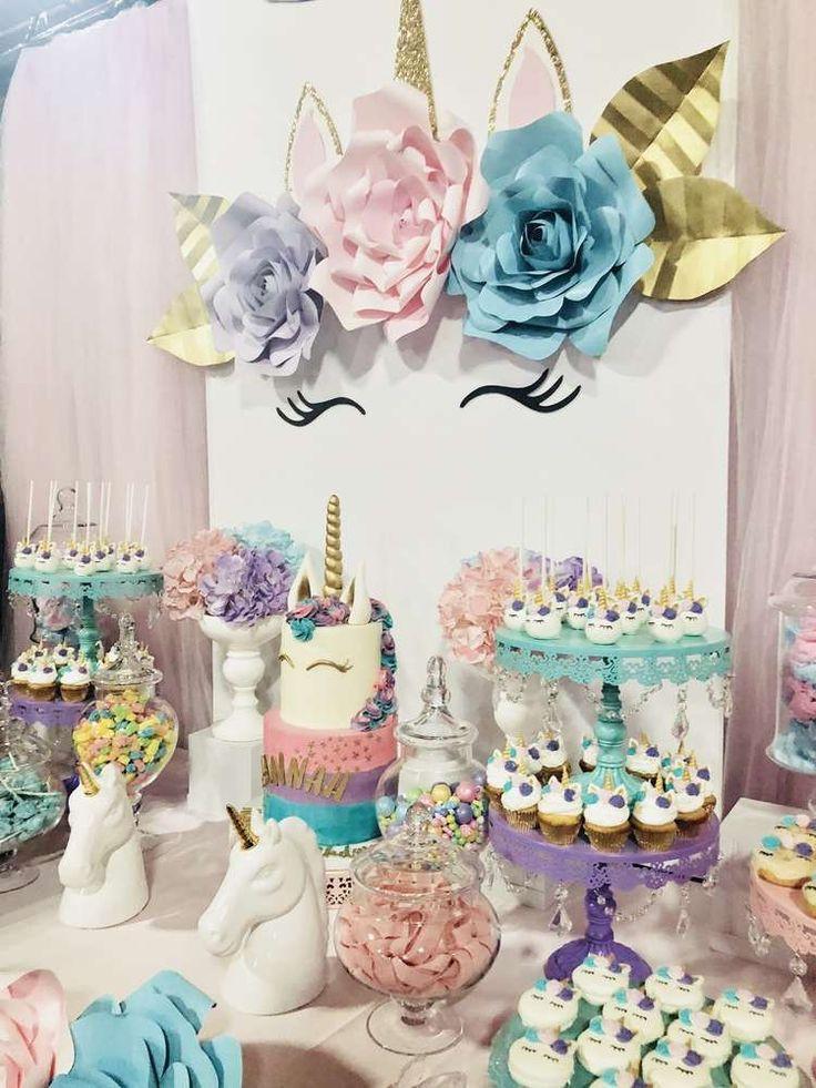 Unicorn Party Decorating Ideas  Best 25 Unicorn birthday parties ideas on Pinterest