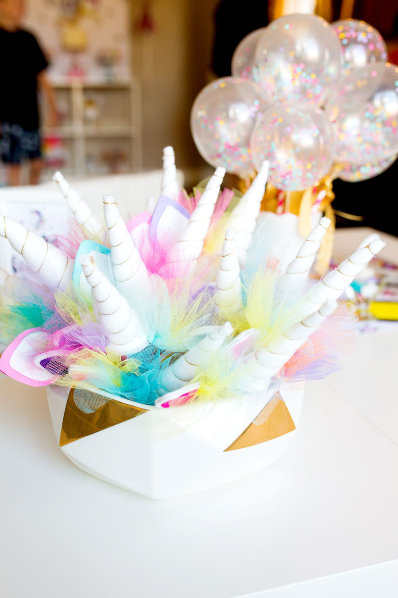 Unicorn Party Decorating Ideas  Unicorn Birthday Party Decorations by Modern Moments