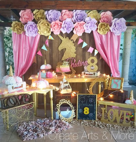 Unicorn Party Decorating Ideas  Unicorn Birthday Party Ideas Every Girl Would Love you Have