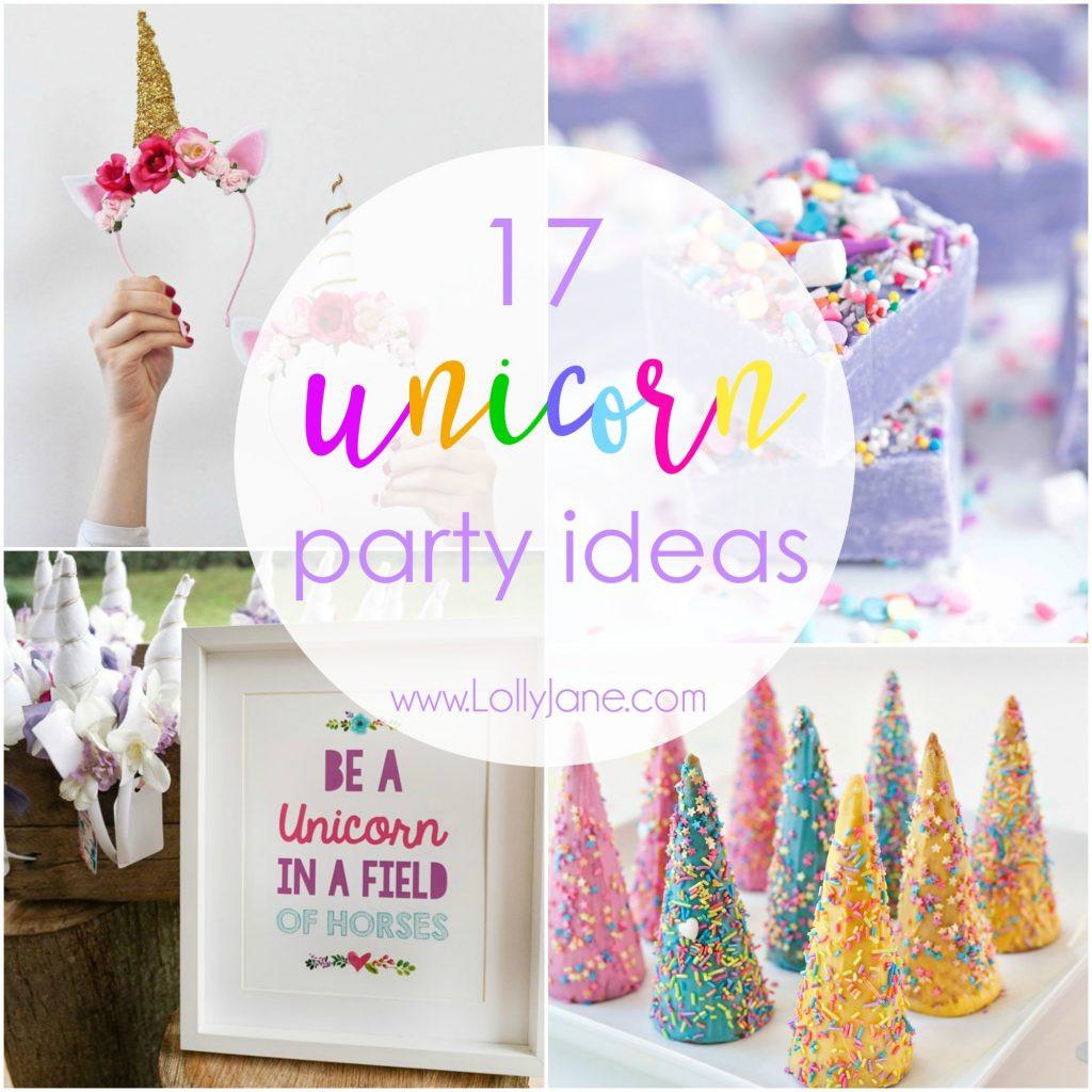 Unicorn Party Decorating Ideas  17 Unicorn Party Ideas To Throw The Ultimate Unicorn Party