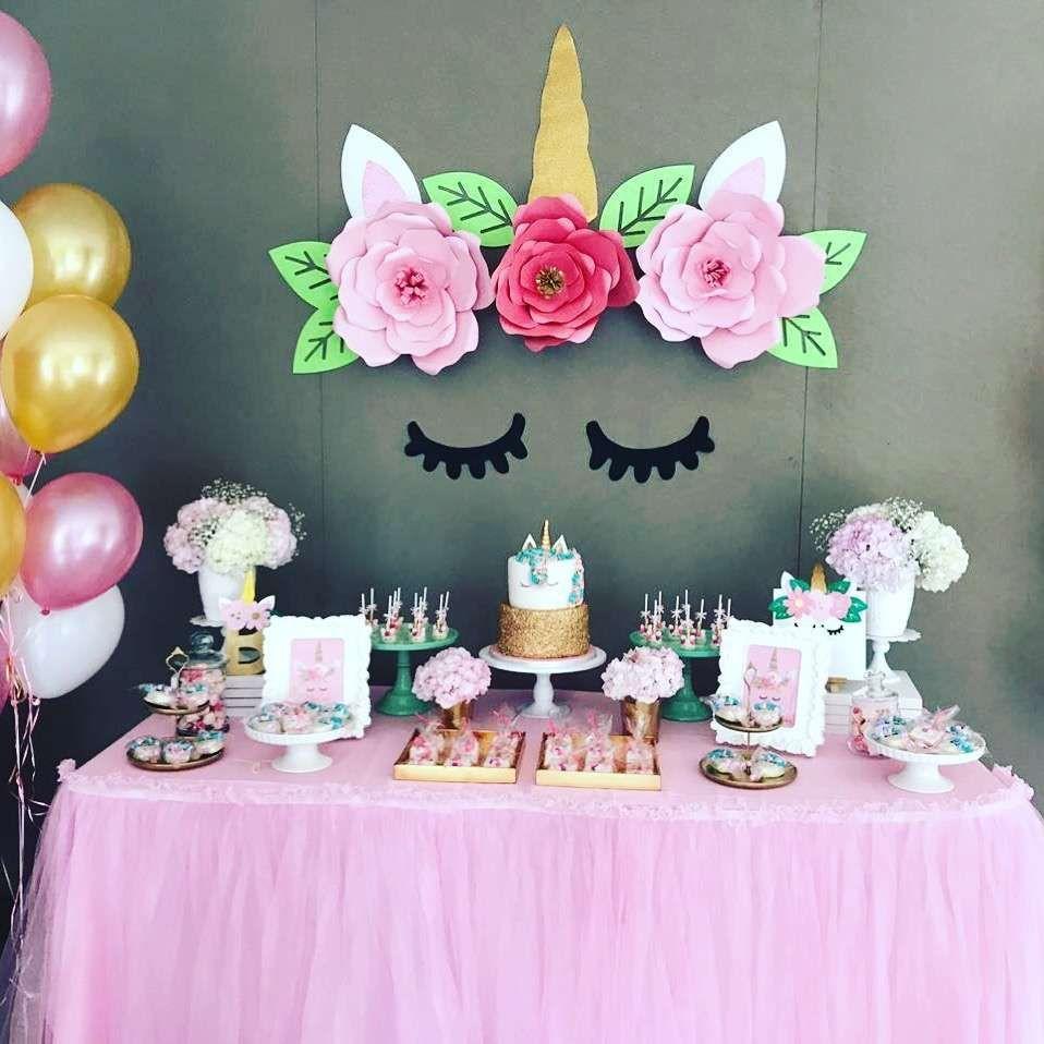Unicorn Party Decorating Ideas  Unicorn Birthday Party Ideas