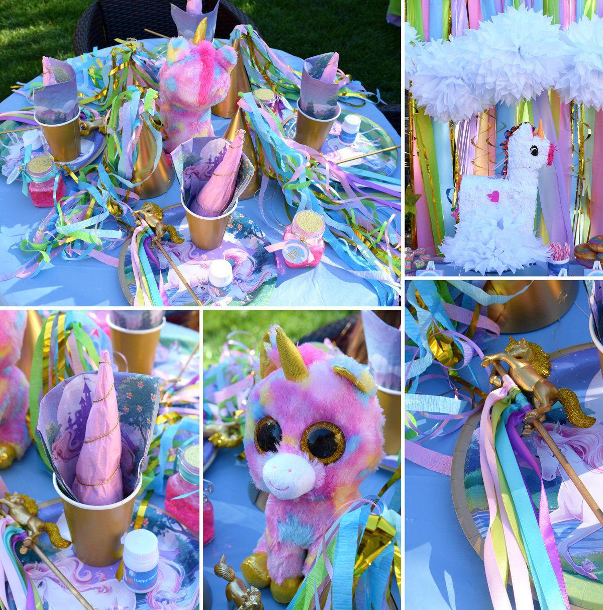 Unicorn Party Decorating Ideas  Unicorn Party Ideas