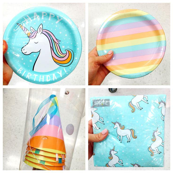 Unicorn Rainbow Party Ideas  Best 25 Rainbow unicorn party ideas on Pinterest