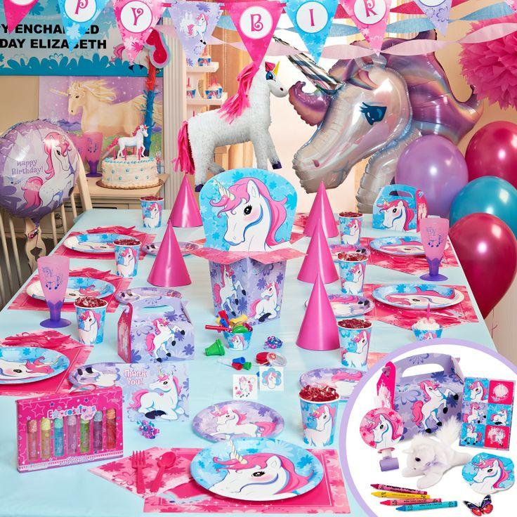Unicorn Rainbow Party Ideas  enchanted unicorn
