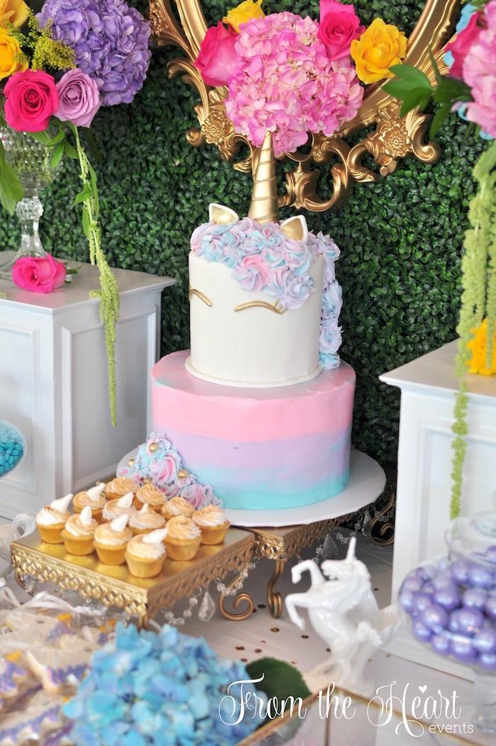 Unicorn Rainbow Party Ideas  Kara s Party Ideas Vibrant Unicorn Birthday Party