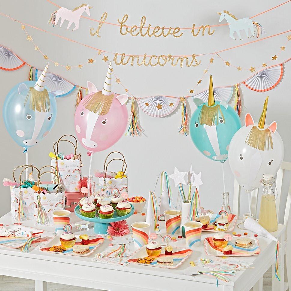 Unicorn Themed Party Ideas  Magical Unicorn Birthday Party Ideas for Kids EatingWell