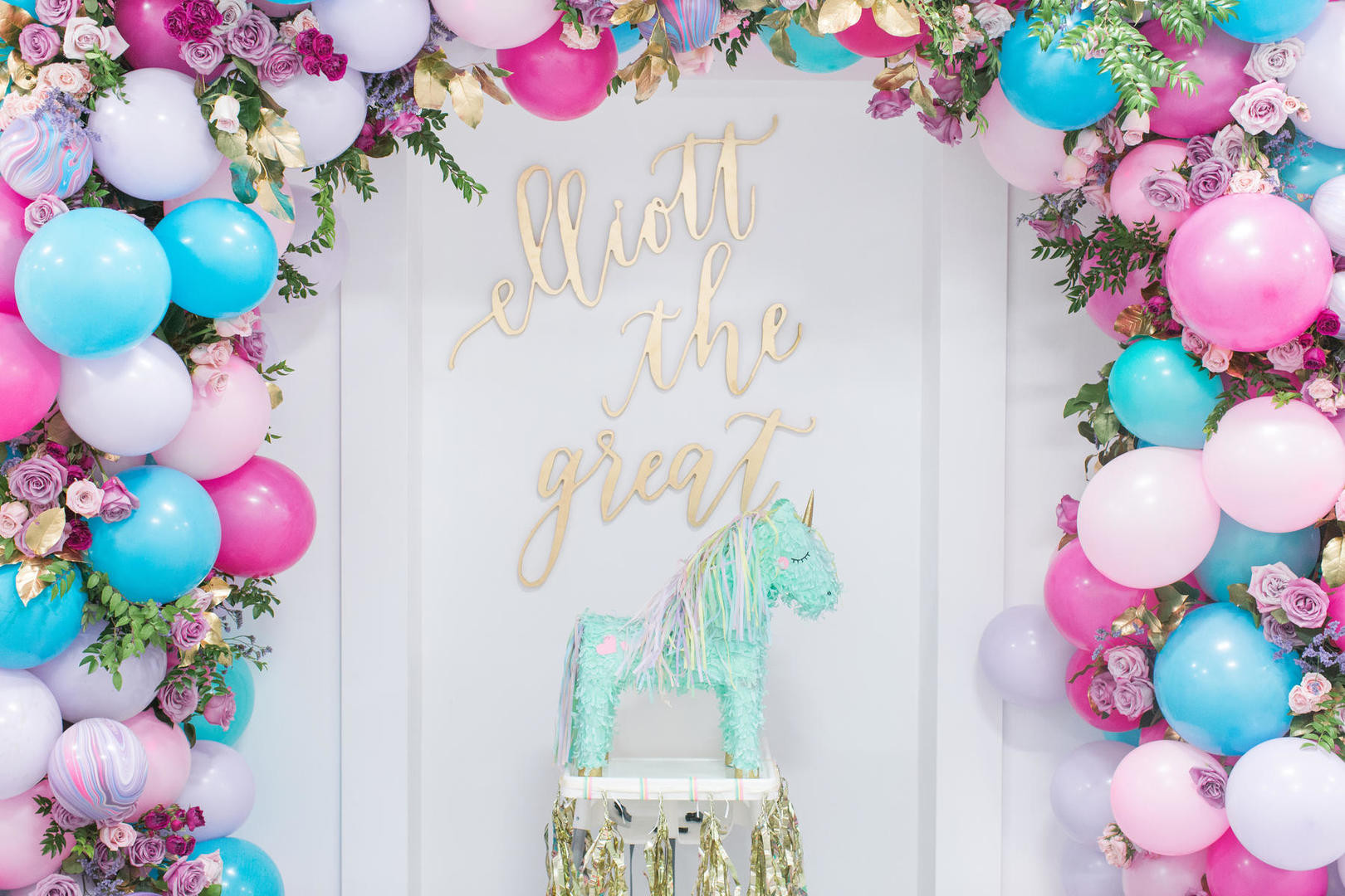 Unicorn Themed Party Ideas  This Unicorn Themed 1st Birthday Party Is Definitely the
