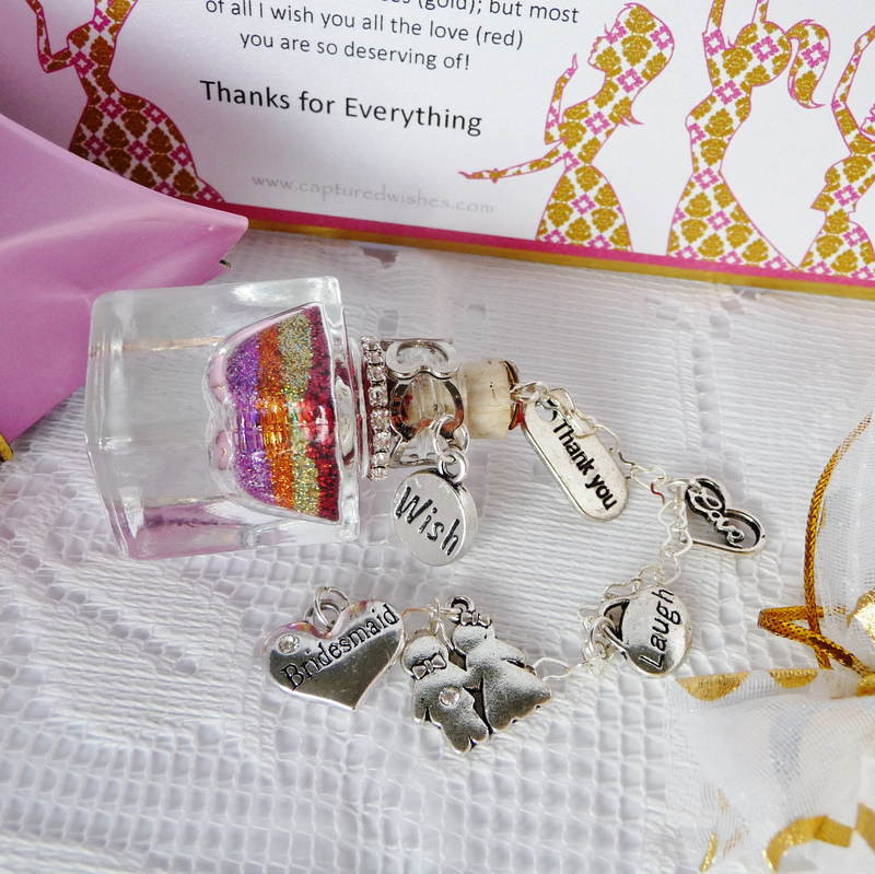 Unique Thank You Gift Ideas  Bridesmaid Thank You Gifts from Captured Wishes