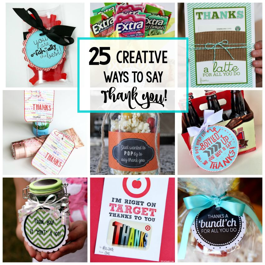 Unique Thank You Gift Ideas  25 Creative & Unique Thank You Gifts 21 Day fix