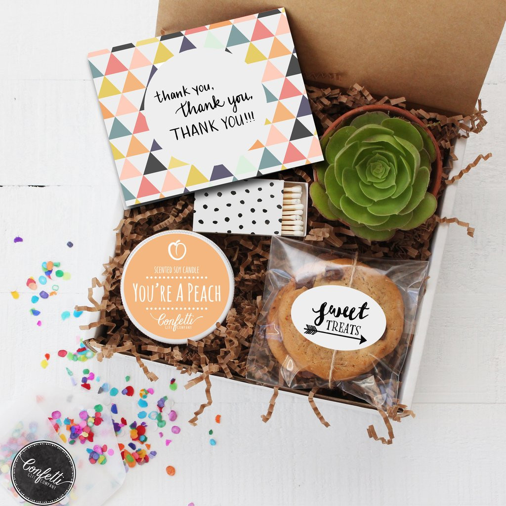 Unique Thank You Gift Ideas  Unique Birthday Gifts and Succulent Gift Boxes For Any