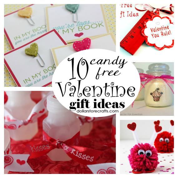 Valentine Candy Gift Ideas  10 Candy Free Valentine Gift Ideas Dollar Store Crafts
