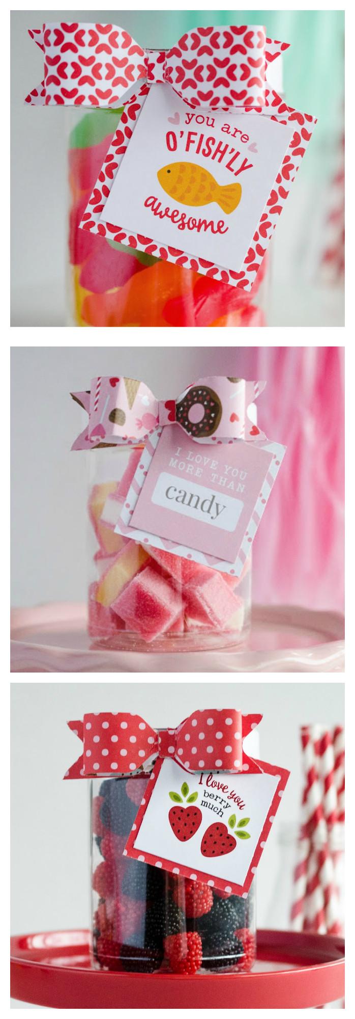 Valentine Candy Gift Ideas  Sweet Valentine Gift Ideas Eighteen25