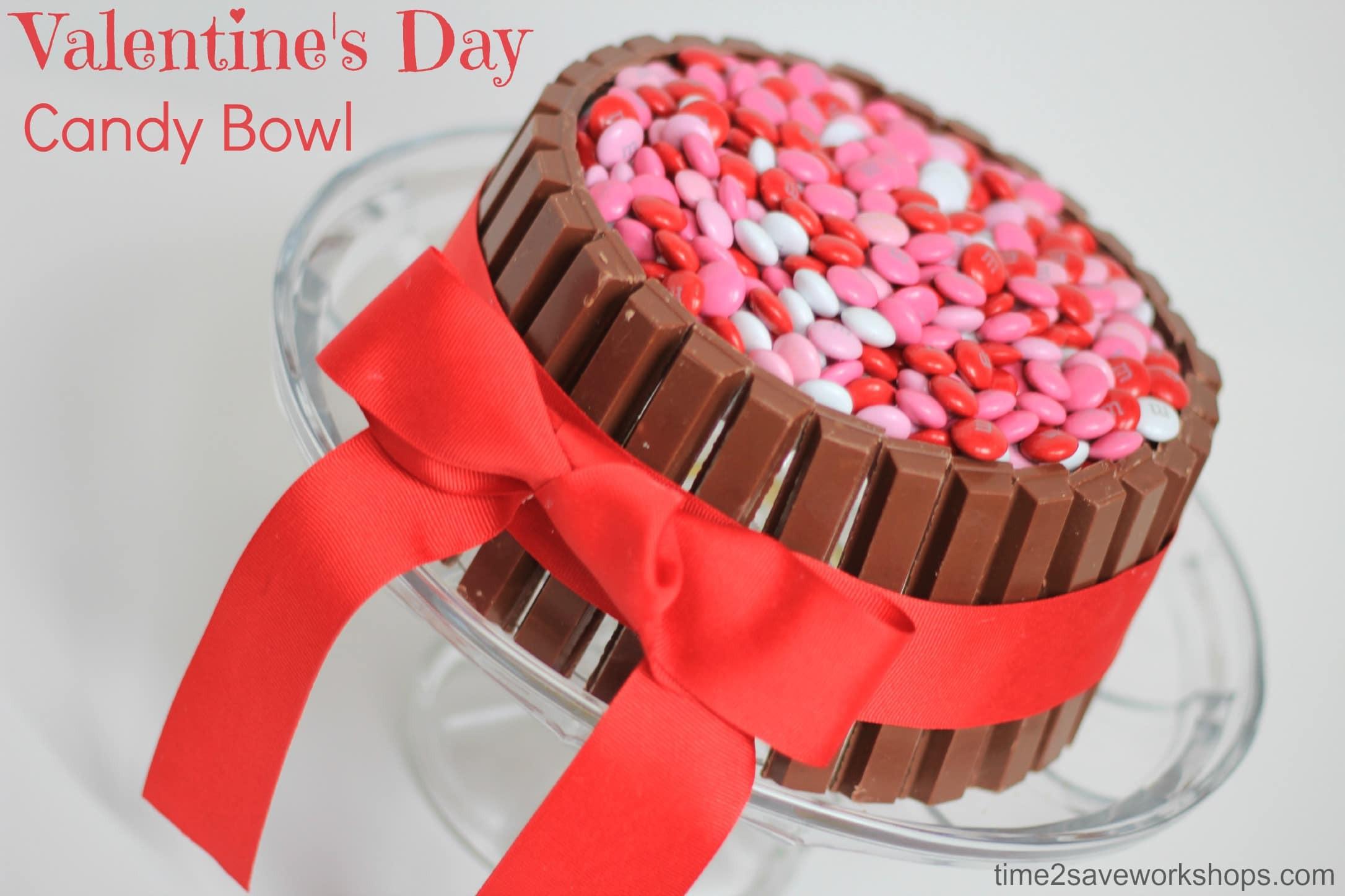 Valentine Candy Gift Ideas  Cute Valentine s Day Ideas DIY Candy Bowl Kasey Trenum