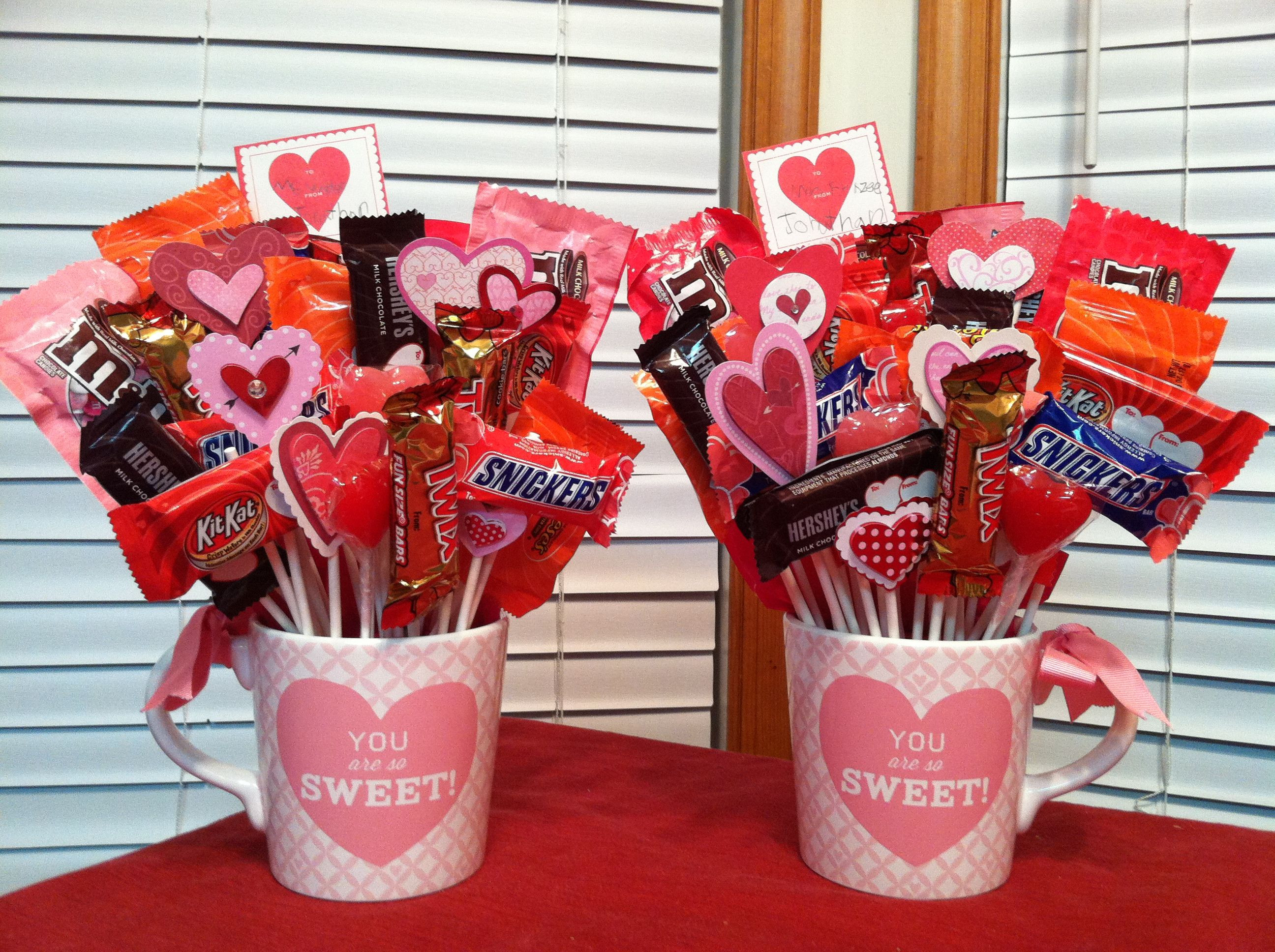 Valentine Candy Gift Ideas  A Business of Your Own Candy bouquet