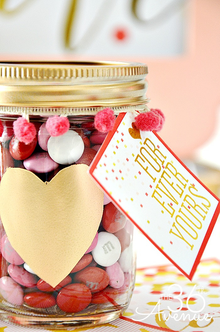 Valentine Candy Gift Ideas  Adorable Valentine Gift Ideas The 36th AVENUE