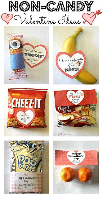 Valentine Candy Gift Ideas  Non Candy Valentine s Day Gift Bag Ideas For Kids Crafty