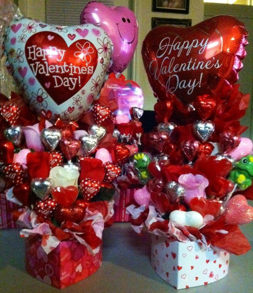 Valentine Candy Gift Ideas  valentine t baskets Valentine s day