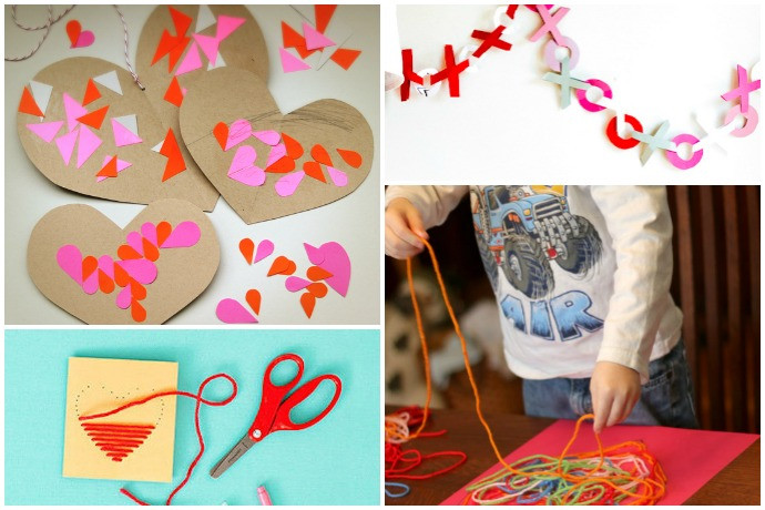 Valentine Crafts For Preschoolers To Make  11 easy Valentine s Day crafts for preschoolers young kids