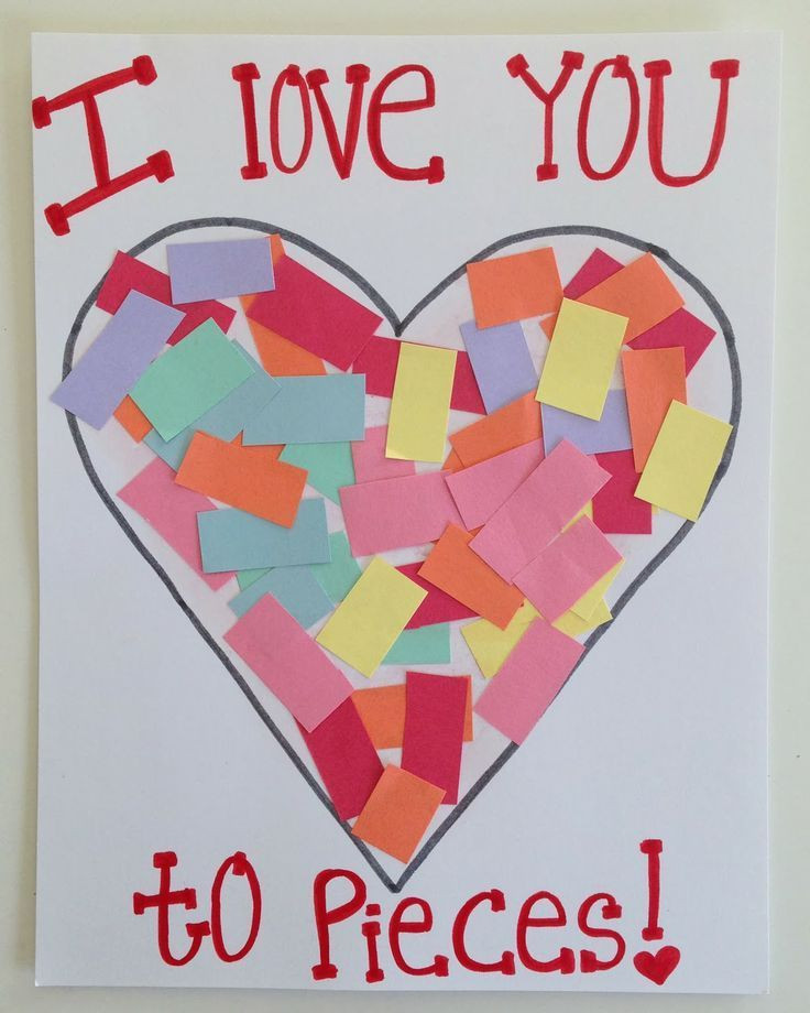 Valentine Crafts For Preschoolers To Make  toddler valentine s day craft