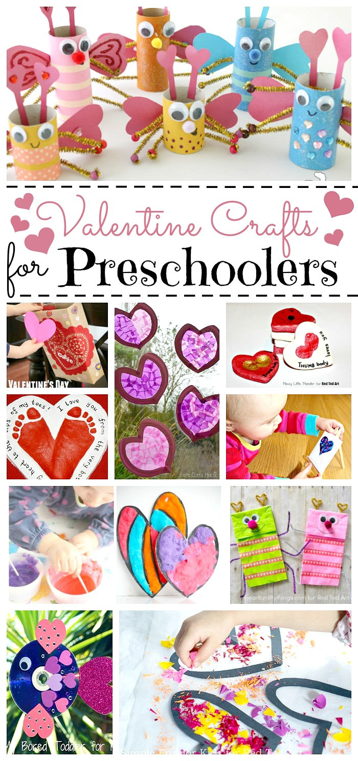 Valentine Crafts For Preschoolers To Make  valentine crafts for preschoolers Red Ted Art s Blog
