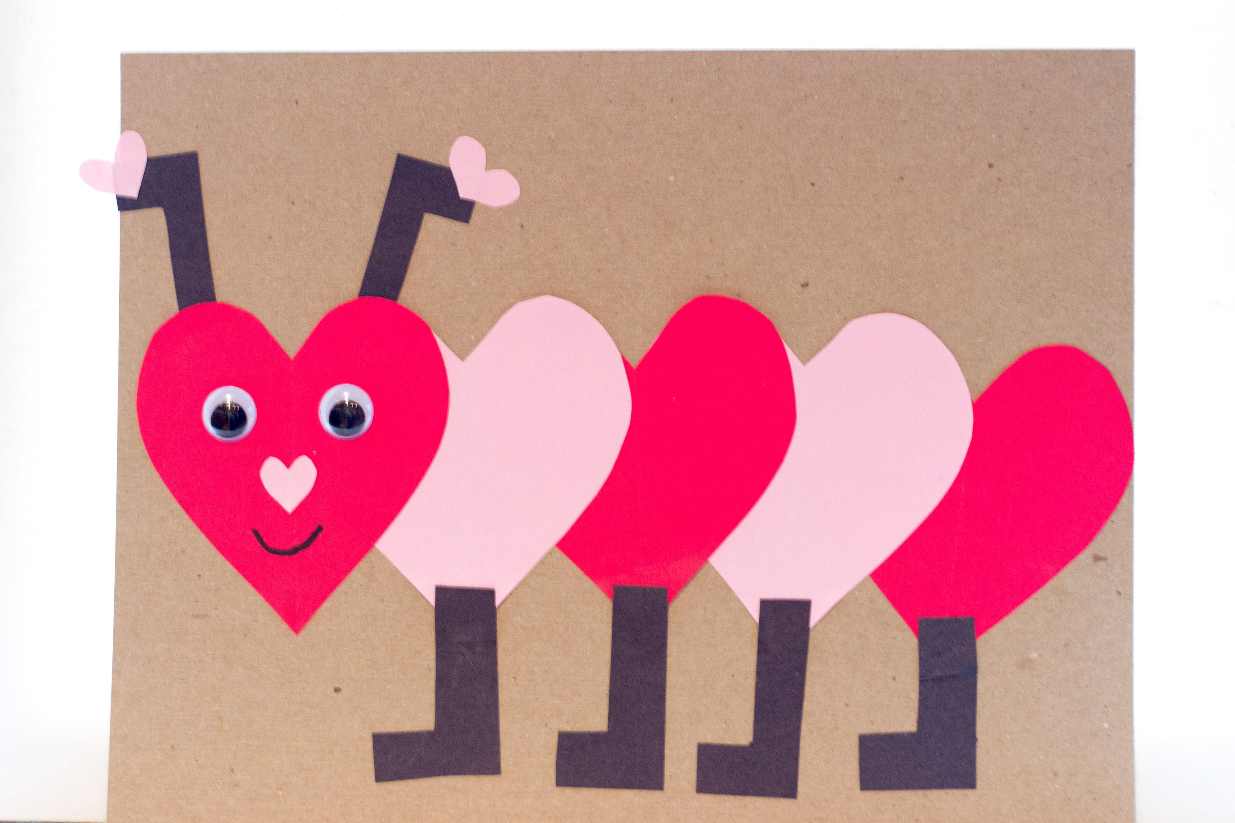 Valentine Crafts For Preschoolers To Make  Valentines Day Craft