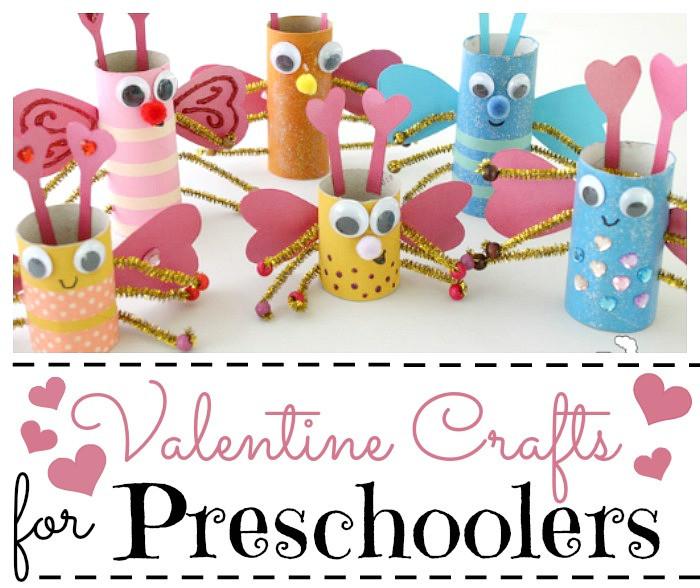 Valentine Crafts Ideas For Preschoolers  Valentine Crafts for Preschoolers Red Ted Art s Blog