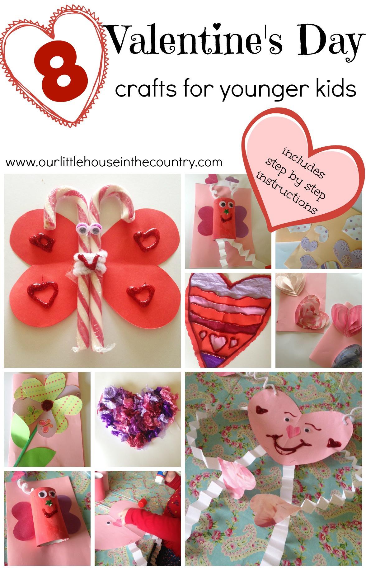 Valentine Crafts Ideas For Preschoolers  Valentine's Day Crafts for Younger Children Preschool and