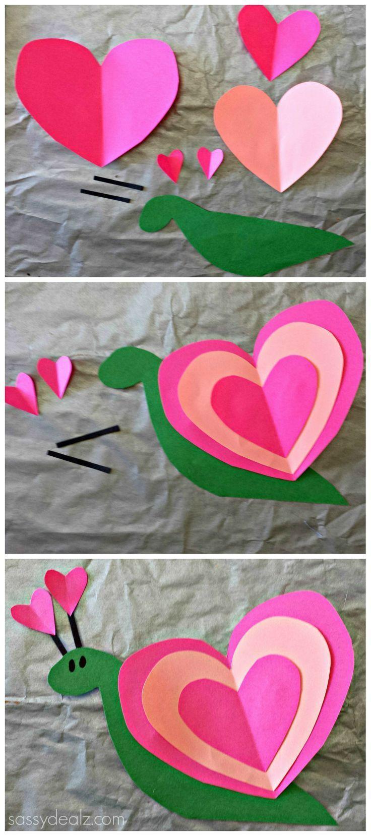 Valentine Crafts Ideas For Preschoolers  204 best Preschool Valentine s Day Crafts images on