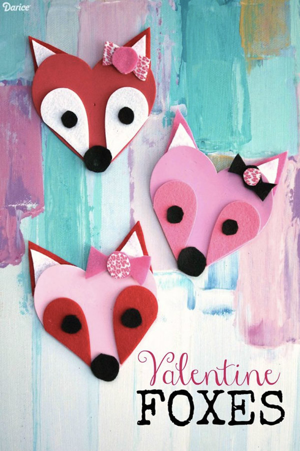 Valentine Crafts Ideas For Preschoolers  10 Easy Valentine Crafts for Kids DIY Projects to Try