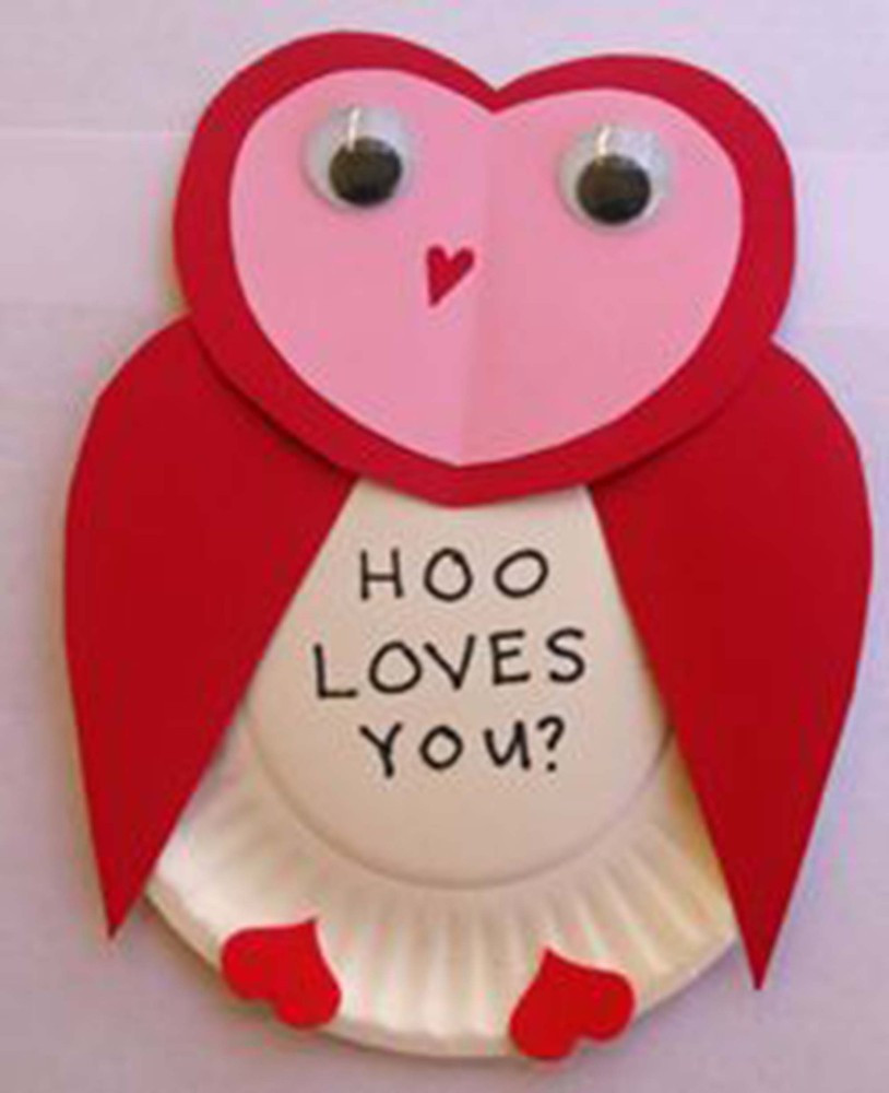 Valentine Crafts Ideas For Preschoolers  23 Easy Valentine s Day Crafts That Require No Special