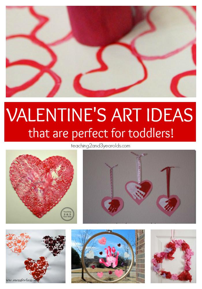 Valentine Crafts Ideas For Preschoolers  15 of the Best Toddler Valentine Crafts