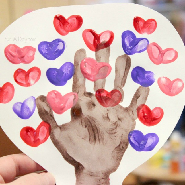 Valentine Crafts Ideas For Preschoolers  Beautiful and Playful Valentine s Day Crafts for