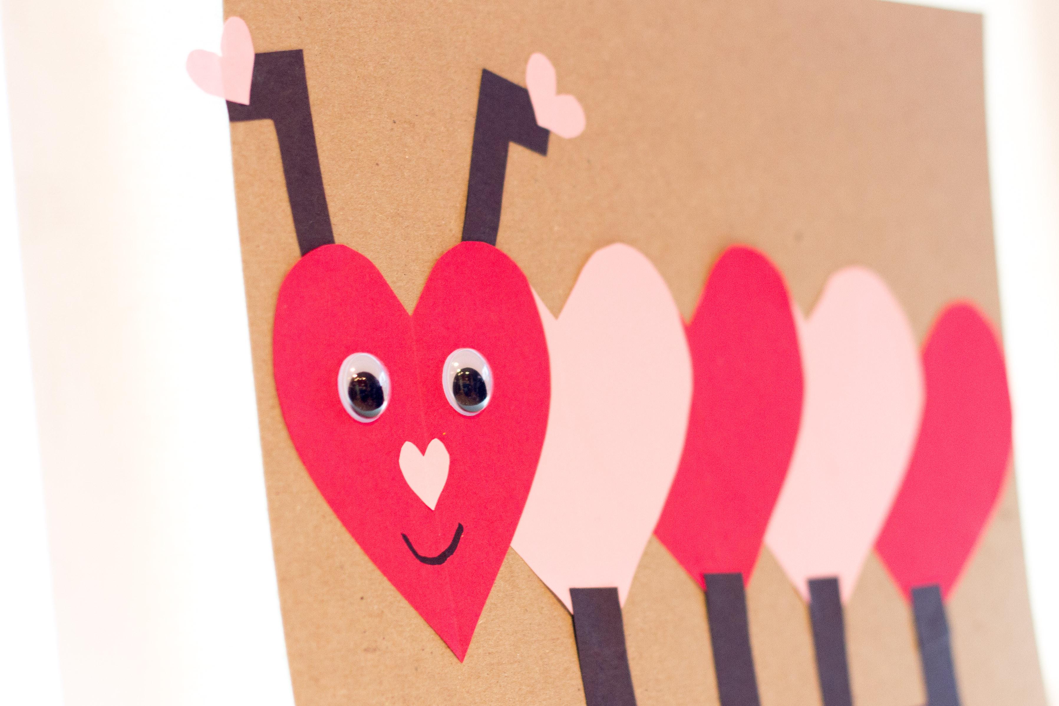 Valentine Crafts Ideas For Preschoolers  kindergarten valentines project