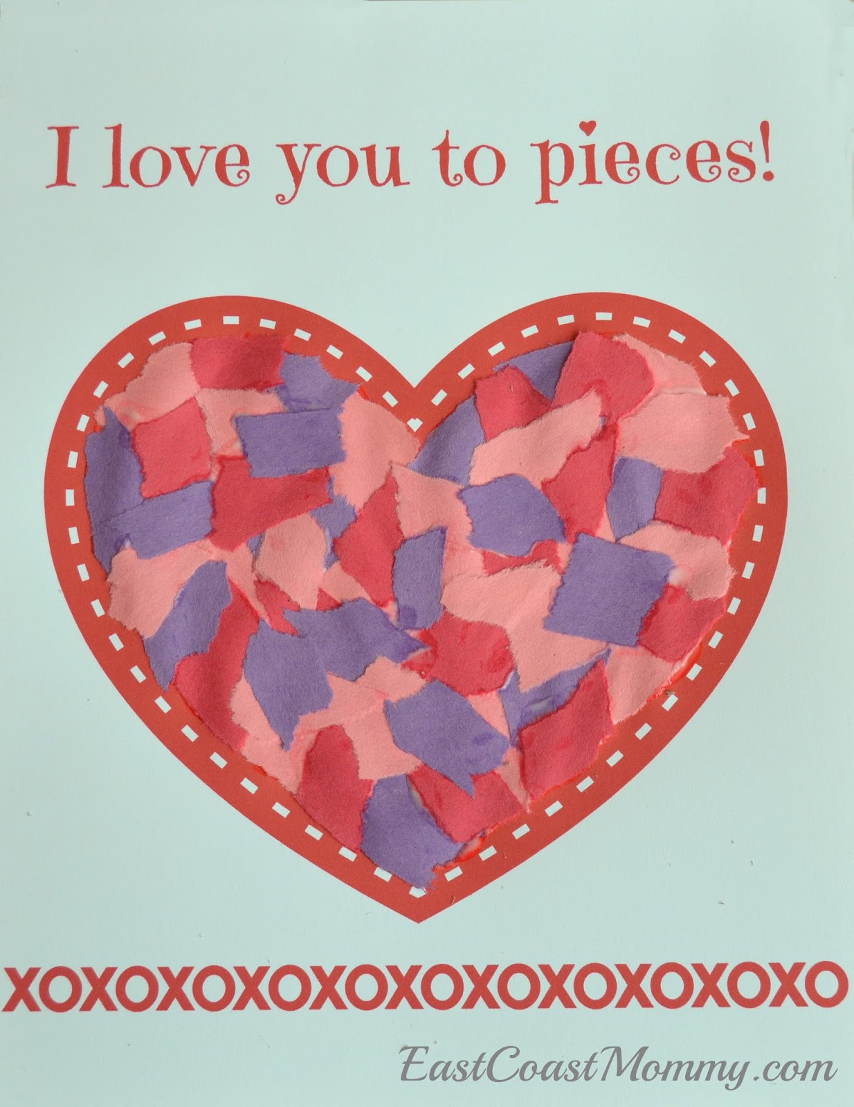 Valentine Crafts Ideas For Preschoolers  East Coast Mommy Simple Valentine s Day Craft for