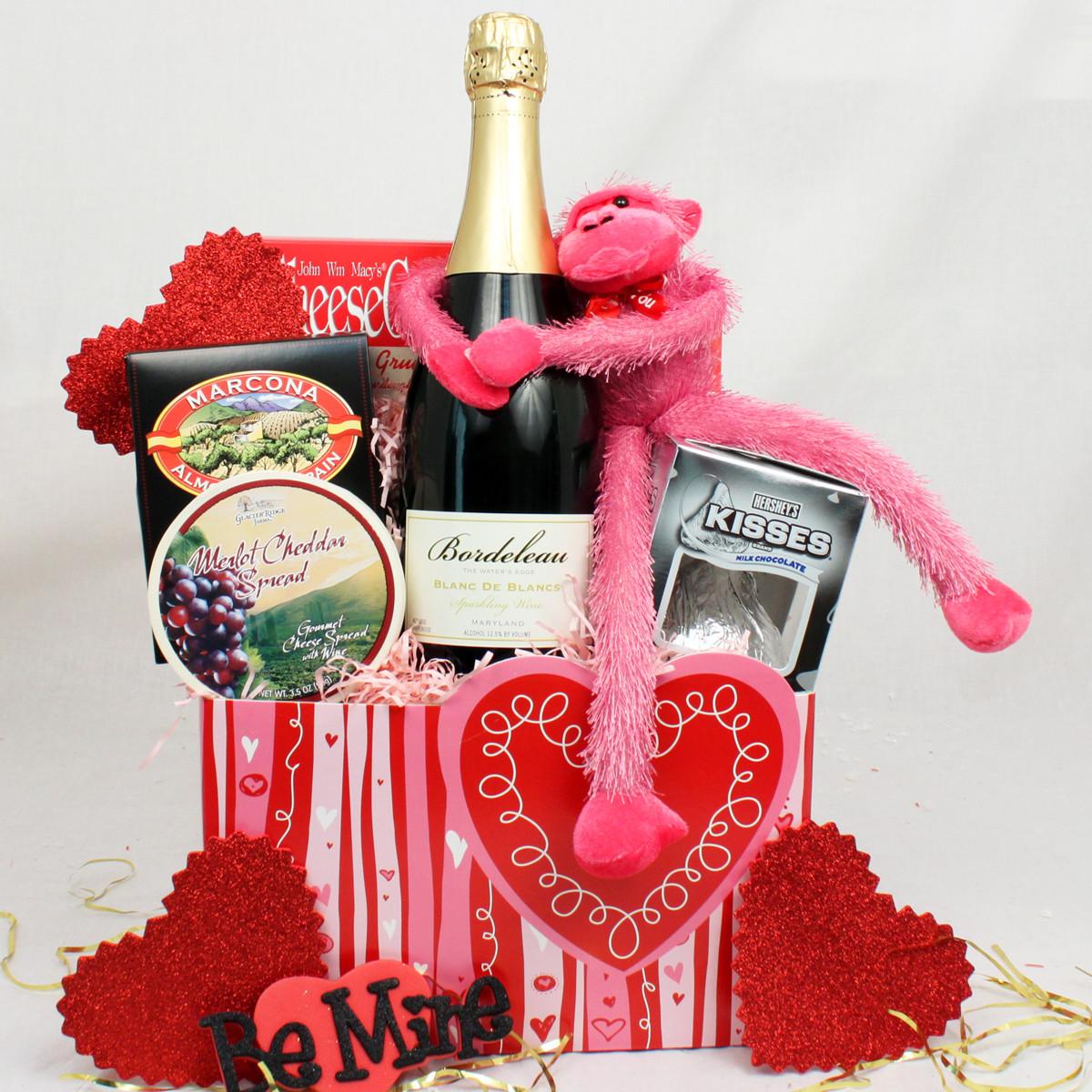 Valentine Day Gift Baskets Ideas  Valentine Gift Baskets Ideas InspirationSeek