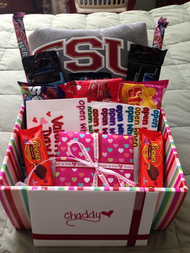 Valentine Day Gift Baskets Ideas  17 Best ideas about Boyfriend Gift Basket on Pinterest