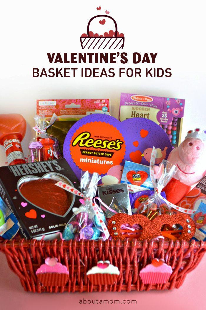 Valentine Day Gift Baskets Ideas  Valentine s Day Basket Ideas for Kids