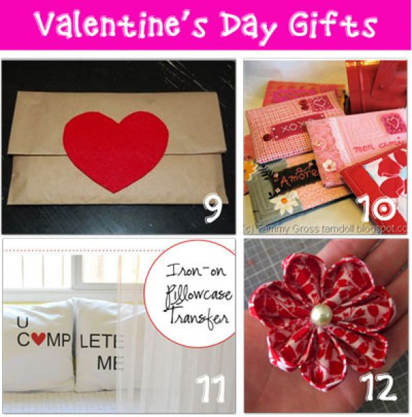 Valentine Day Homemade Gift Ideas  Homemade Valentine S Day Gifts Valentines Day Homemade Gifts
