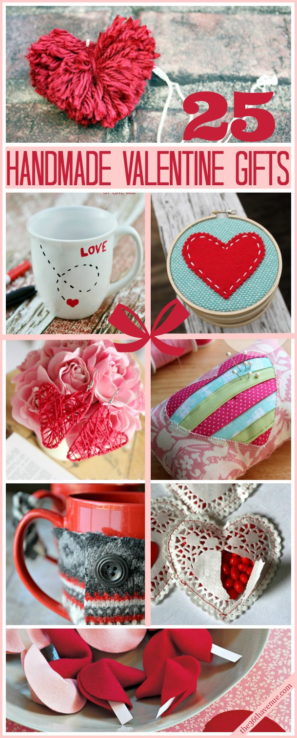 Valentine Day Homemade Gift Ideas  Valentine Handmade Gifts and DIY Ideas The 36th AVENUE