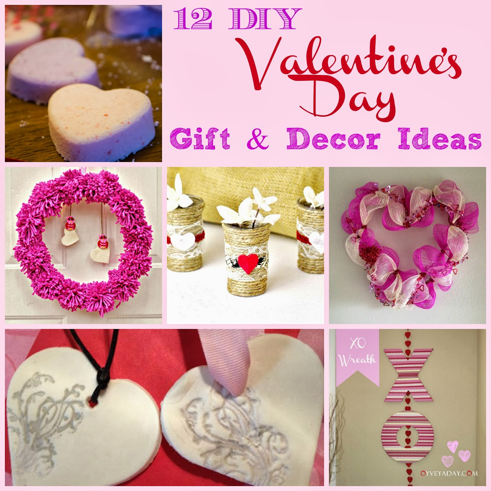 Valentine Day Homemade Gift Ideas  12 DIY Valentine s Day Gift & Decor Ideas Outnumbered 3 to 1