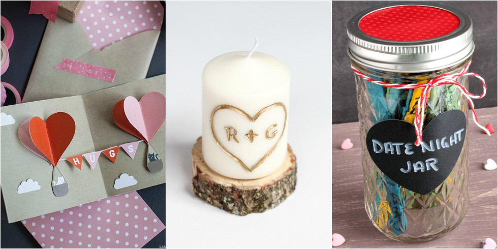 Valentine Day Homemade Gift Ideas  21 DIY Valentine s Day Gift Ideas 21 Easy Homemade