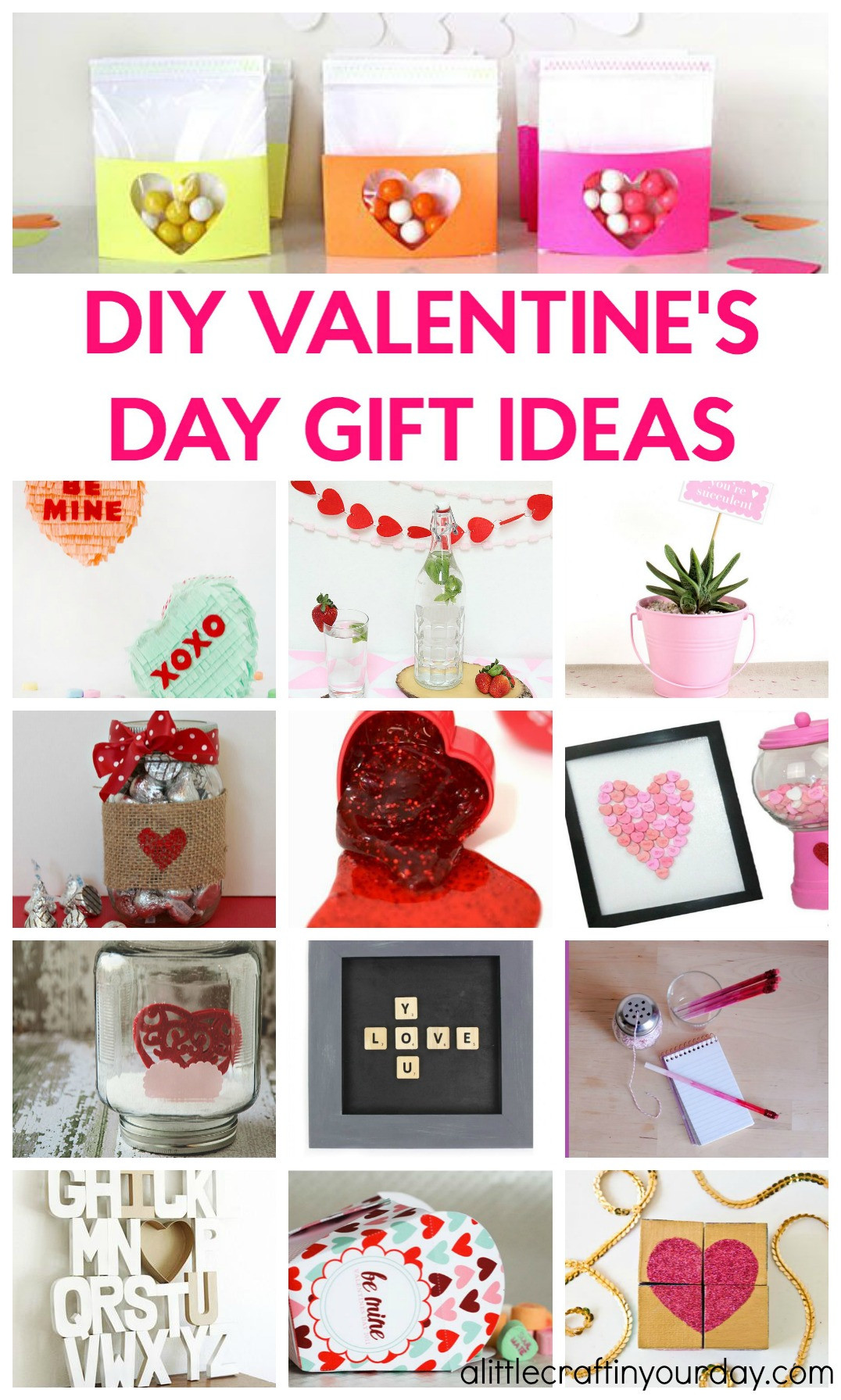 Valentine Day Homemade Gift Ideas  DIY Valentines Day Gift Ideas A Little Craft In Your Day