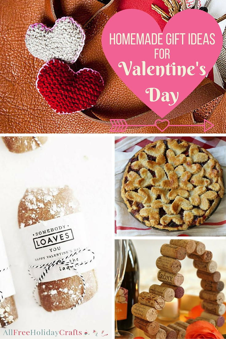 Valentine Day Homemade Gift Ideas  40 Homemade Gift Ideas for Valentine s Day