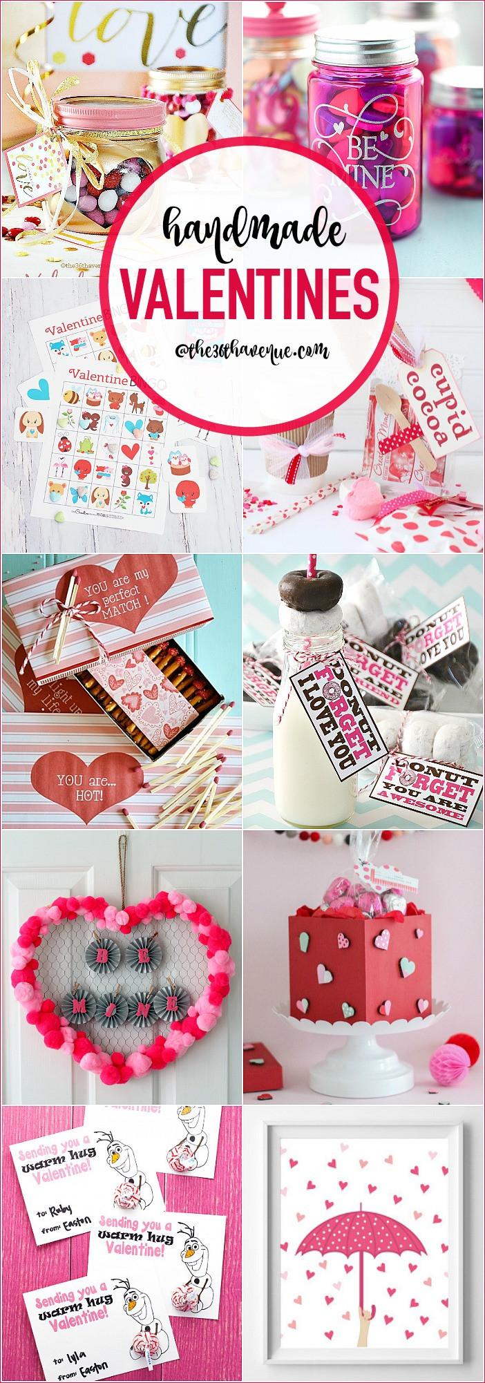 Valentine Day Homemade Gift Ideas  Handmade Valentines DIY Gift Ideas The 36th AVENUE