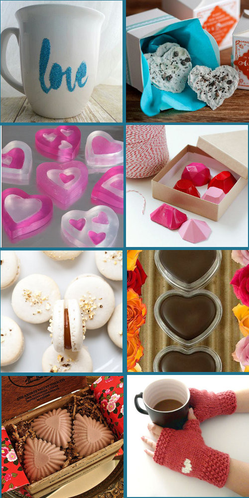 Valentine Day Homemade Gift Ideas  Last Minute DIY Handmade Valentine s Day Gift Ideas Soap