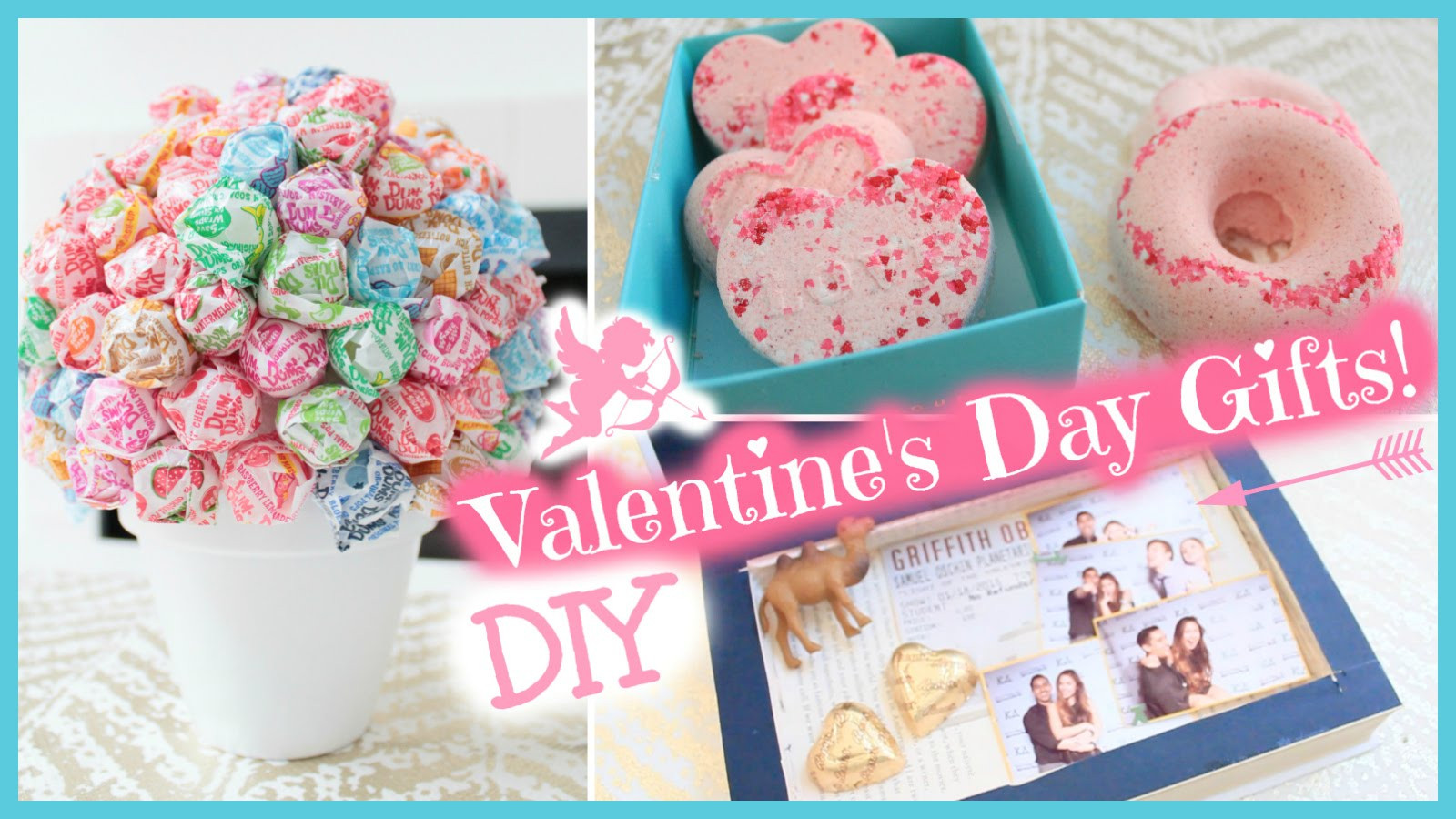 Valentine Day Homemade Gift Ideas  DIY Valentine s Day Gift Ideas 2015 Everything 4 Christmas