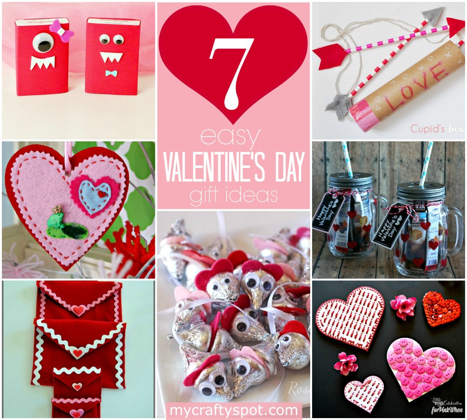 Valentine Day Homemade Gift Ideas  Easy DIY Valentine s Day Gift Ideas