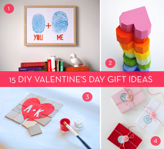 Valentine Day Homemade Gift Ideas  A Very Valentine s Day Roundup 15 DIY V Day Gift Ideas